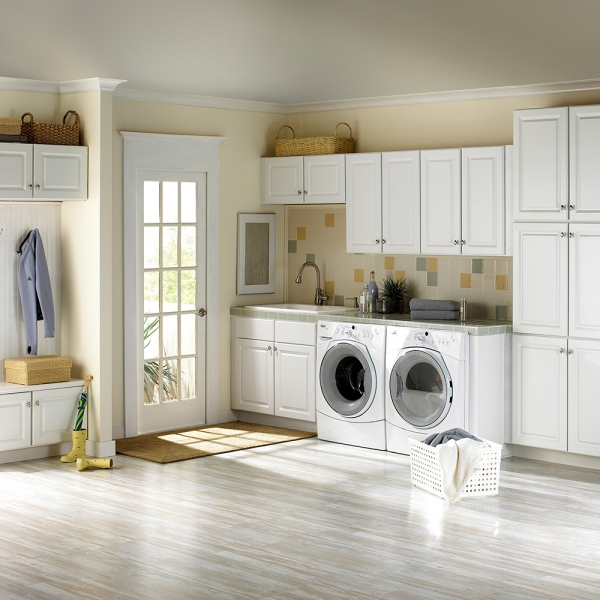 Laundry room avanti closets for Utility room ideas