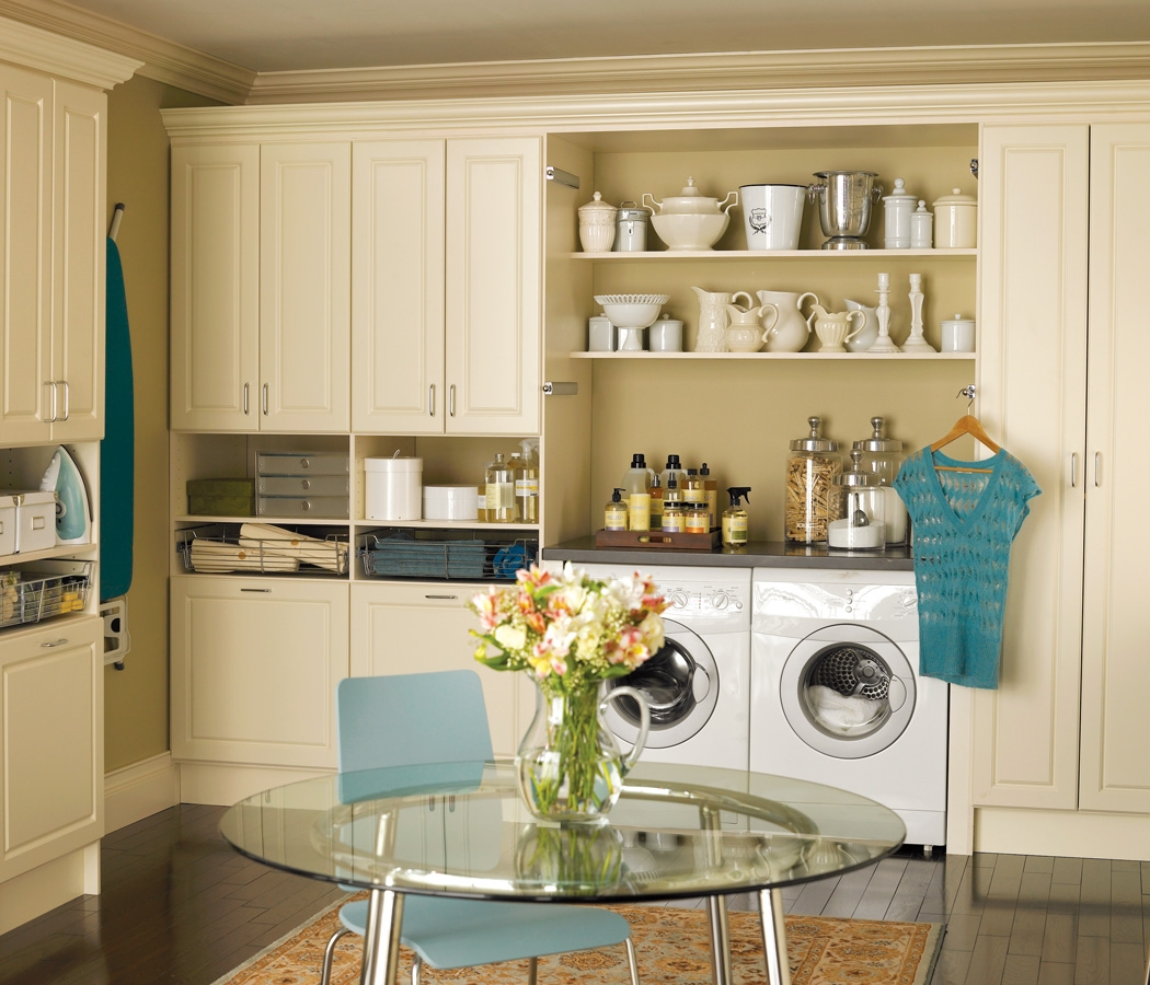 Laundry room avanti closets Laundry room storage
